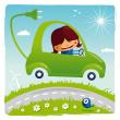 stock-illustration-16385495-green-electric-car