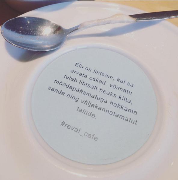 kohvikus